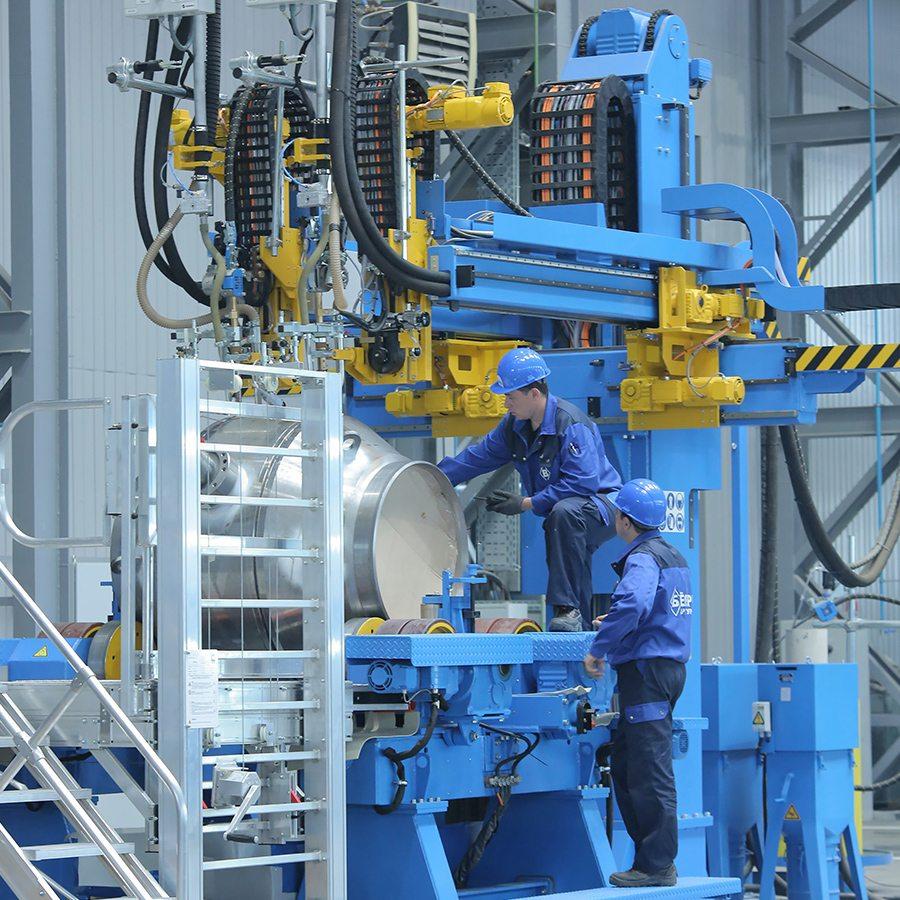 завод по производству шаровых кранов